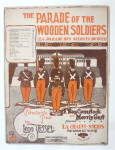 Sheet Music 1921 The Parade Of The Wooden Soldier
