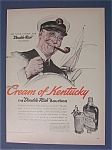 Click here to enlarge image and see more about item 2329: Norman Rockwell 1940 Cream Of Kentucky Bourbon Ad