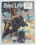 Click to view larger image of Boys' Life Magazine August 1955 Swimming Safety (Image2)