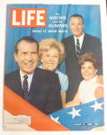 Click to view larger image of Life Magazine-August 16, 1968-Nixons & Agnews (Image1)