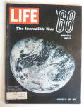 Click to view larger image of Life Magazine-January 10, 1969-The Incredible Year  (Image1)