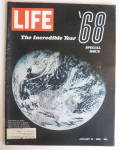 Click to view larger image of Life Magazine-January 10, 1969-The Incredible Year  (Image2)