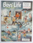 Click here to enlarge image and see more about item 23355: Boys Life Magazine April 1958 Redleg Bayboy