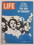 Click here to enlarge image and see more about item 23370: Life Magazine-October 24, 1969-The Day Of Dissent