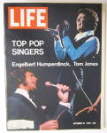Life Magazine September 18, 1970 Top Pop Singers