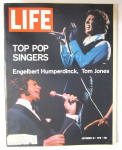 Click to view larger image of Life Magazine September 18, 1970 Top Pop Singers  (Image2)
