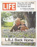 Life Magazine May 21, 1971 L. B. J. Back Home