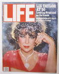 Life  Magazine March 1982 Liz Taylor At 50