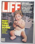 Life  Magazine November 1982 Test Tube Baby Boom