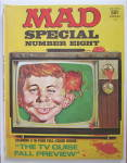 Mad Magazine Special #8 1972 TV Guise Fall Preview