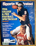 Sports Illustrated Magazine-September 3, 1986-Mc Mahon