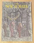 Click to view larger image of New Yorker Magazine May 7, 1990 Deer Using Atm (Image1)