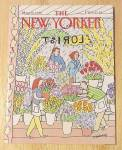 Click to view larger image of New Yorker Magazine May 28, 1990 Flower Shop (Image1)