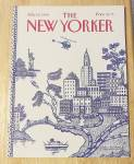 New Yorker Magazine July 23, 1990 City Scene