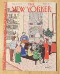 New Yorker Magazine December 10, 1990 Family W/ Piano