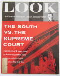 Click to view larger image of Look Magazine April 3, 1956 South vs. Supreme Court  (Image1)