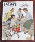 Click to view larger image of Saturday Evening Post Feb 22, 1958 The Art Boom (Image1)