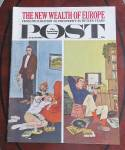 Click here to enlarge image and see more about item 23812: Saturday Evening Post Feb 10, 1962 Wealth Of Europe