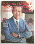 Click to view larger image of Saturday Evening Post Fall 1972 Richard Nixon (Image2)