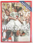 Time Magazine July 19, 1999 What A Kick: Women's Soccer