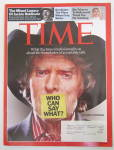 Time Magazine April 23, 2007 Don Imus