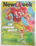 Newsweek Magazine December 4, 1972 The Running Backs