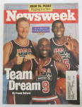 Click to view larger image of Newsweek Magazine July 6, 1992 Team Dream  (Image1)