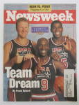 Click to view larger image of Newsweek Magazine July 6, 1992 Team Dream  (Image2)