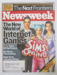 Click to view larger image of Newsweek Magazine November 25, 2002 Internet Games (Image1)