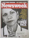 Click to view larger image of Newsweek Magazine December 16, 2002 Condi Rice  (Image1)