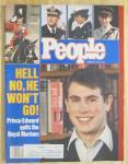 People Magazine January 26, 1987 Prince Edward