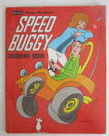 Click here to enlarge image and see more about item 24000: Hanna Barbera's Speed Buggy Coloring Book 1977