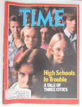 Click to view larger image of Time Magazine-November 14, 1977-High Schools (Image1)