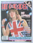 Click here to enlarge image and see more about item 24087: Hit Parader Magazine March 1984 Def Leppard
