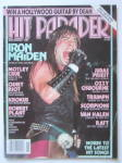 Click here to enlarge image and see more about item 24088: Hit Parader Magazine November 1984 Iron Maiden