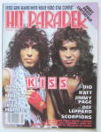 Click here to enlarge image and see more about item 24090: Hit Parader Magazine February 1985 Kiss