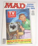 Click here to enlarge image and see more about item 24106: Mad Magazine Fall 1984 Mad Look At Television