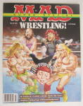 Click to view larger image of Mad Magazine March 1992 Wrestling  (Image2)