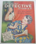 Click here to enlarge image and see more about item 24122: Official Detective Stories Magazine July 1936