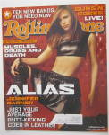 Click to view larger image of Rolling Stone February 14, 2002 Jennifer Garner  (Image2)