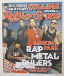 Click to view larger image of Rolling Stone March 14, 2002 Linkin Park (Image2)
