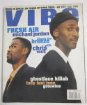 Vibe Magazine February 1997 Chris Rock & Mike Jordan