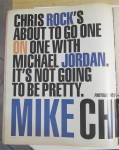 Click to view larger image of Vibe Magazine February 1997 Chris Rock & Mike Jordan  (Image3)