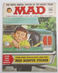 Click here to enlarge image and see more about item 24152: Mad Magazine 1967 Mad Bumper Sticker
