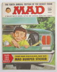 Click to view larger image of Mad Magazine 1967 Mad Bumper Sticker  (Image2)