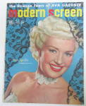 Modern Screen Magazine July 1950 Betty Grable