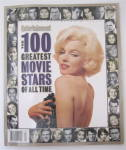 Entertainment Magazine Fall 1996 100 Great Movie Stars