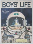 Click to view larger image of Boys Life Magazine June 1972 Our Future In Space (Image2)