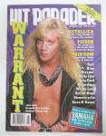 Click here to enlarge image and see more about item 24222: Hit Parader Magazine November 1990 Warrant