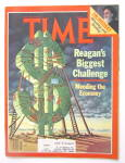 Click to view larger image of Time Magazine-January 19, 1981-Reagan's Challenge (Image2)
